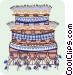 decorative patterns Vector Clip Art image