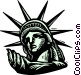Statue of Liberty Vector Clipart graphic