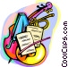 The Arts/Music Vector Clip Art graphic