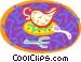 teapot Vector Clipart picture