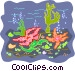 sea life Vector Clip Art image