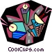 business communications Vector Clipart picture