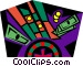 gambling Vector Clipart illustration