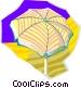 sun umbrella Vector Clipart illustration