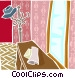 house interior Vector Clipart image