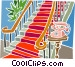 house interior Vector Clip Art image