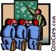 management Vector Clip Art image
