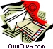 Business Email Vector Clip Art image
