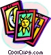 tarot cards Vector Clipart picture