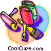 painting tools Vector Clipart picture
