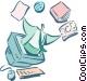 business / technology / info Vector Clip Art image