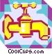 faucet Vector Clip Art picture