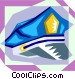 police officer hat Vector Clip Art image