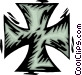 iron cross Vector Clipart picture