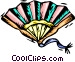 decorative fan Vector Clipart picture