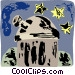 observatory Vector Clipart picture