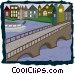 canal Vector Clip Art image