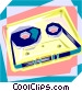 Cassette Vector Clipart graphic