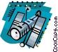 Satellite Vector Clipart graphic