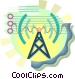 Power tower Vector Clip Art image