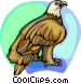 American eagle Vector Clipart image