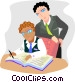 Business meeting Vector Clip Art picture