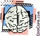 The brain Vector Clipart illustration