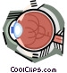 The eye Vector Clipart graphic