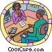 human resources Vector Clipart graphic