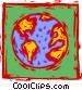 earth Vector Clip Art graphic