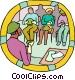 emergency preparedness Vector Clipart illustration