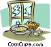 breakfast Vector Clipart illustration