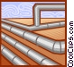 refinery symbol Vector Clip Art graphic