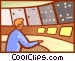 air traffic control Vector Clipart picture
