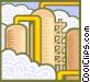 refinery symbol Vector Clip Art image