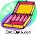 storage case Vector Clip Art picture