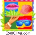 hospitality services Vector Clip Art image
