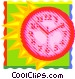 time Vector Clipart graphic