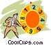 Game Show Host Vector Clipart graphic
