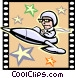 Science Fiction Movie Vector Clip Art image