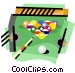 Pool billiards Vector Clip Art picture