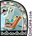 Dentist office Vector Clipart picture