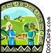 Picnic Vector Clipart image