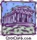 Parthenon Vector Clip Art picture