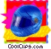 Helmet Vector Clipart illustration