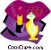 Cosmetics Vector Clip Art image