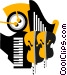 Musical instruments Vector Clipart image