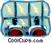 Broadcast Center Vector Clip Art graphic