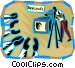 Canned Applause Vector Clipart picture