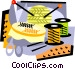 knitting supplies Vector Clip Art image